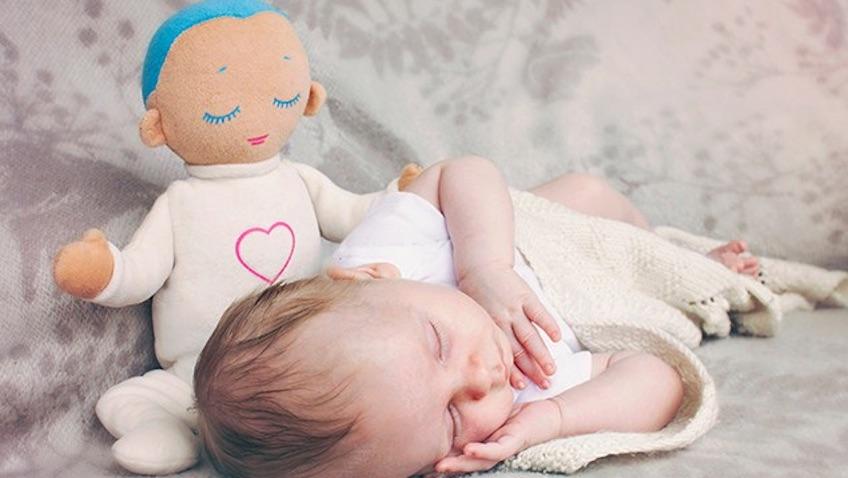 bebe recien nacido duerma lulla doll