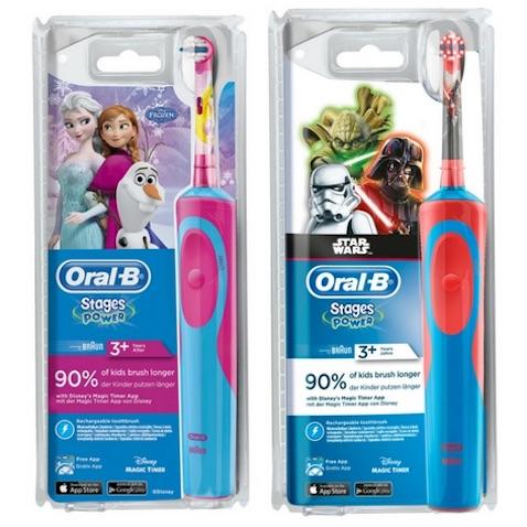 cepillos de dientes infantiles