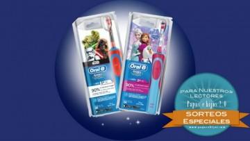 ¡Sorteo de cepillos de dientes eléctricos infantiles de Oral-B!