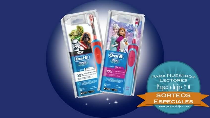 cepillos electricos infantiles oral b frozen y star wars