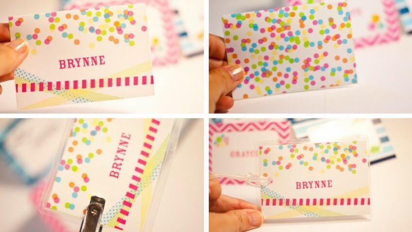 como hacer etiquetas personalizadas