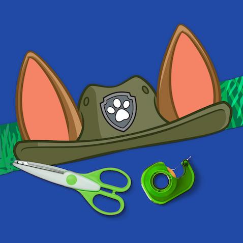 Haz sombreros de Tracker de La Patrulla Canina
