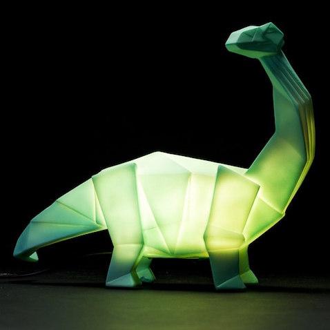 lámpara infantil dinosaurio Diplodocus