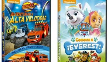"""Sorteo de películas de la """"Patrulla Canina"""" y """"Blaze y los Monster Machines"""""""