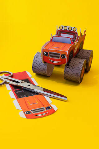 Vehículo de Blaze y los Monster Machines
