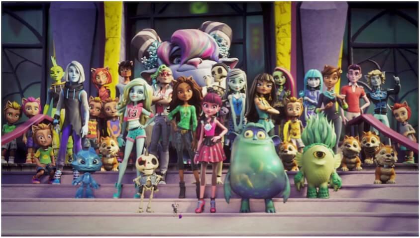¡Bienvenidos a Monster High!