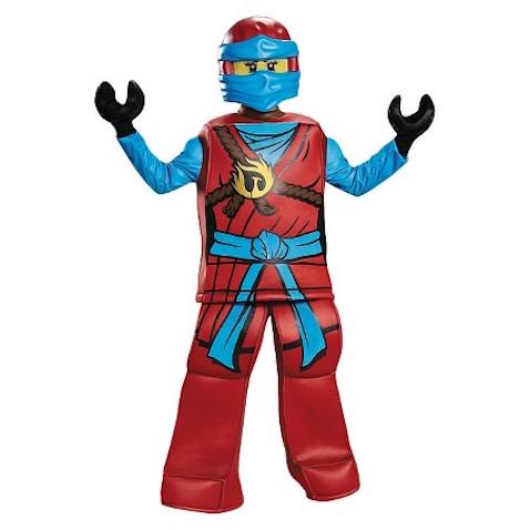 Disfraz de Nya de Lego Ninjago