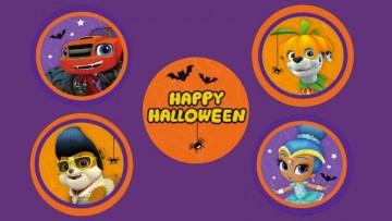 Cupcakes de Halloween de Blaze, la Patrulla Canina y más personajes