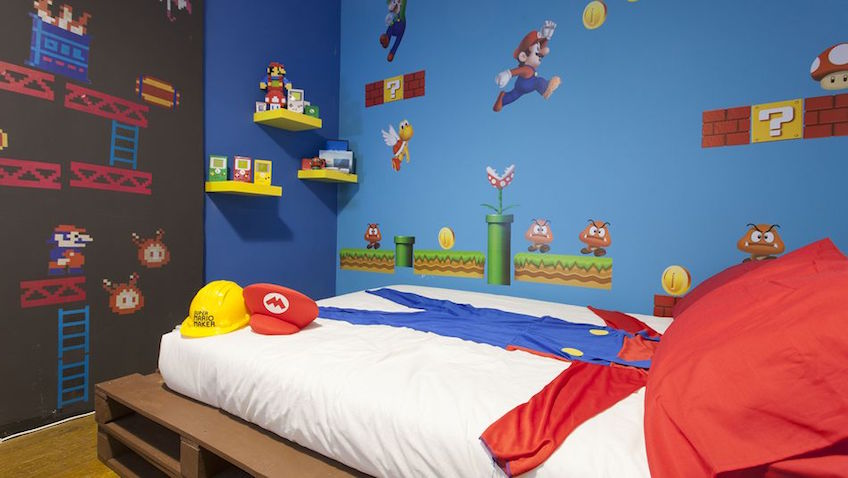 decoracion infantil super mario