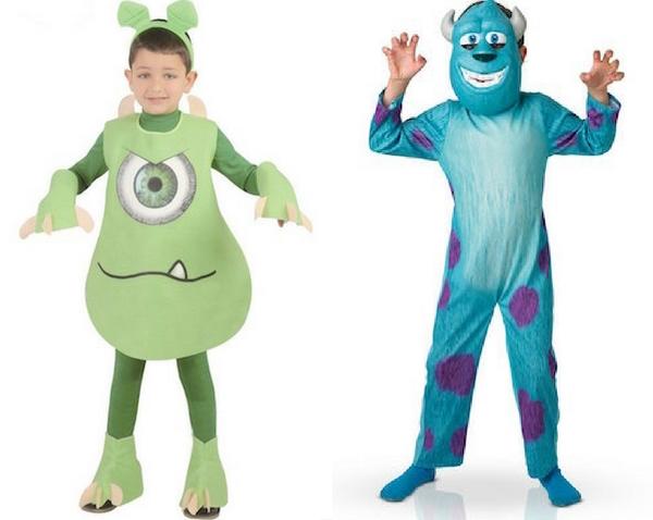 Disfraces de Halloween para niñ@s de Monsters University