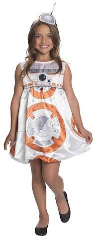 Disfraz niña de BB-8 episodio 7 de Star Wars