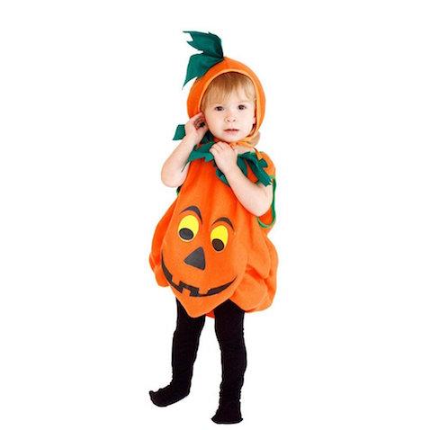 Disfraz de calabaza para niños Halloween