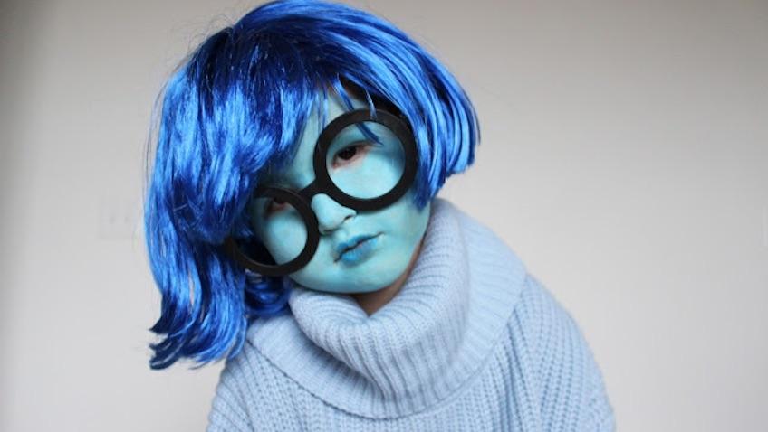 disfraz casero del revés y más disfraces de Halloween caseros para niñ@s