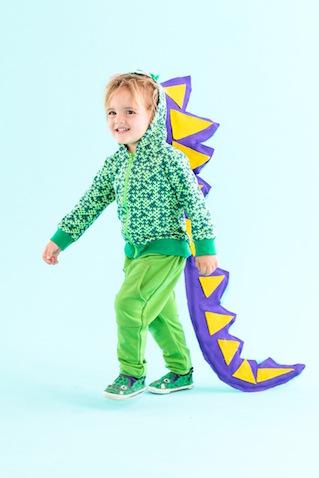 Disfraz dinosaurio casero para niños