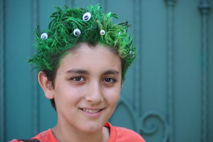 Peinados Locos Para Fiestas Infantiles Destinos Populares En Espana
