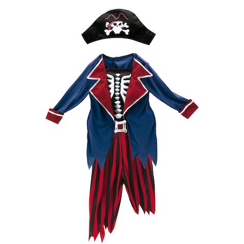 Disfraz de pirata zombie de la nueva colección de Halloween de Imaginarium