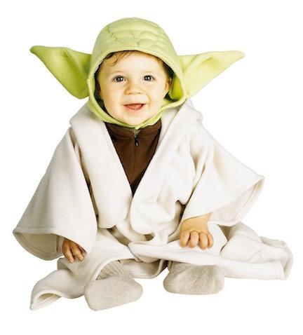 Disfraz de Yoda bebés y niñ@s