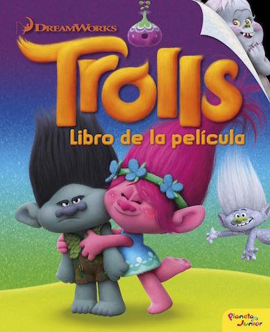 Trolls, libro de la película