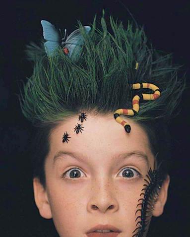 Peinado para Halloween niño