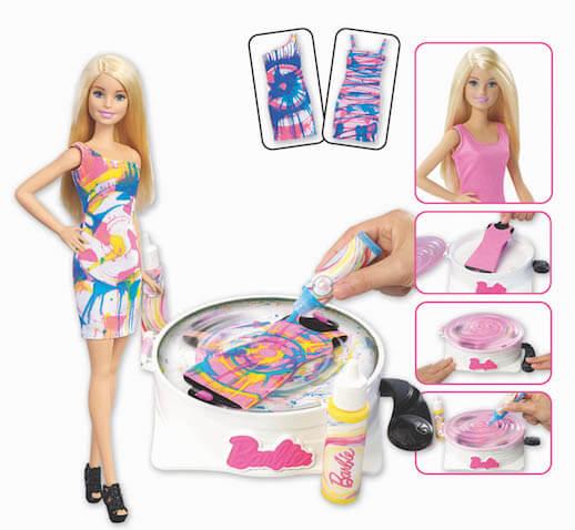 Nueva Barbie Gira y Diseña de Mattel