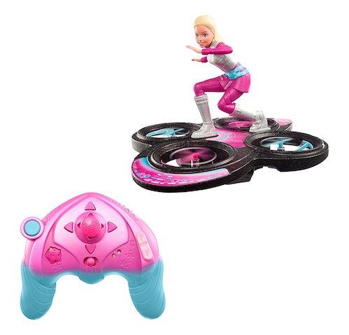 Barbie y su dron skate galáctigo RC