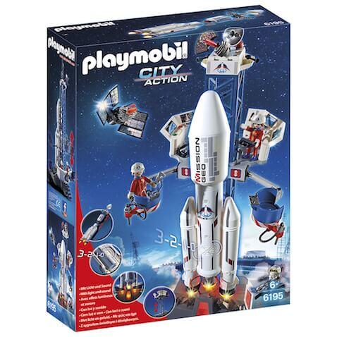 Cohete con Plataforma de Lanzamiento de Playmobil