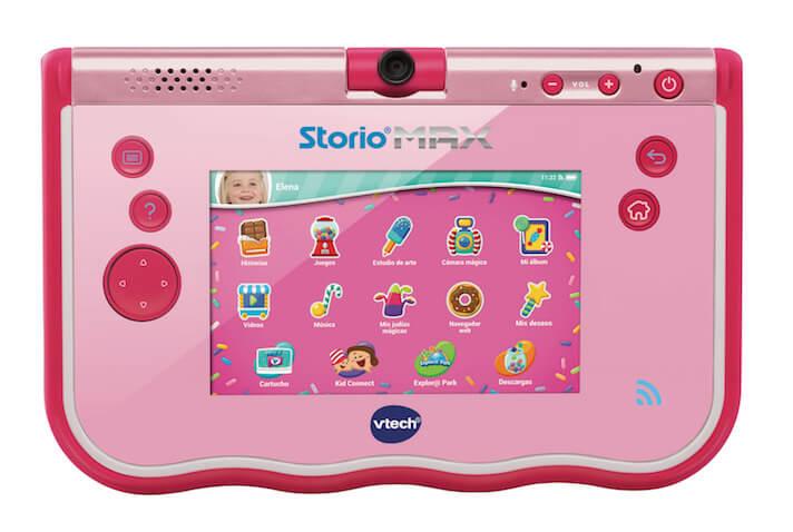 Storio Max color rosa de Vtech