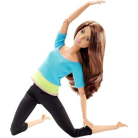 Barbie Movimiento sin Límites, una muñeca más flexible