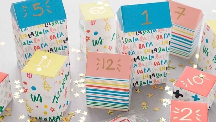 10 calendarios de adviento caseros para niñ@s