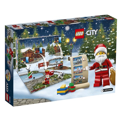 Calendario de Adviento de Lego City