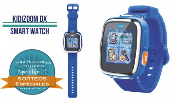 ¡Sorteo de un Kidizoom Smart Watch DX de VTech!