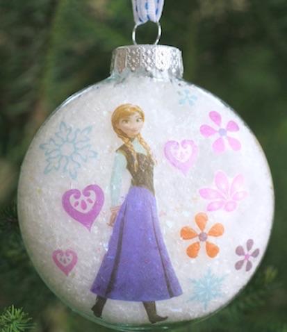Bolas de Navidad de Anna de Frozen