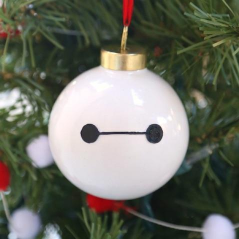 Bolas de Navidad de Baymax de Big Hero