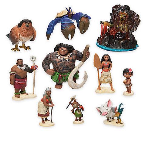 Conjunto figuritas Lujo Vaiana