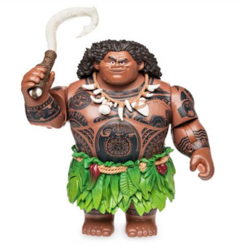 Figurita cantarina Maui de Vaiana de Disney