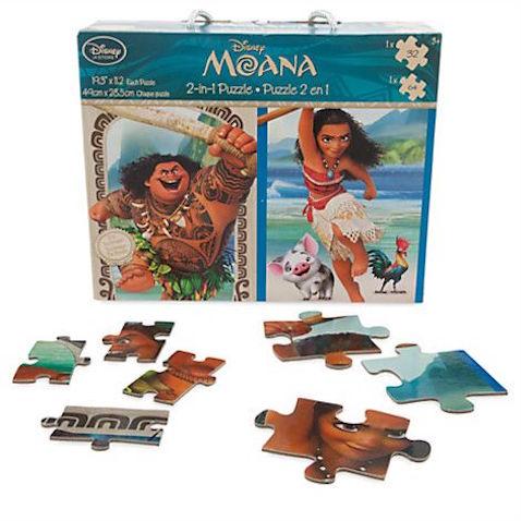 Puzzle 2 en 1 de Vaiana
