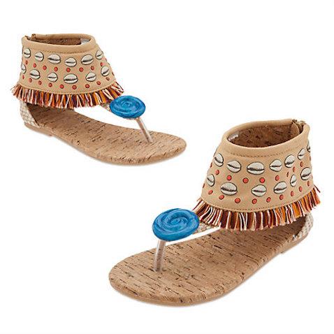 Zapatos para disfraz Vaiana