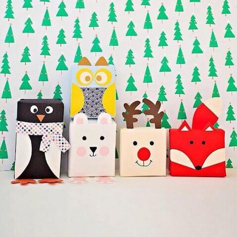 5 ideas para envolver regalos de forma original para los ni s - Envolver regalos de navidad ...