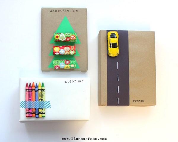 Ideas para envolver regalos de forma original para niñ@s