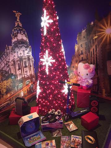La máquina del tiempo de eBay Madrid exposición Navidad gratis para ir con niños