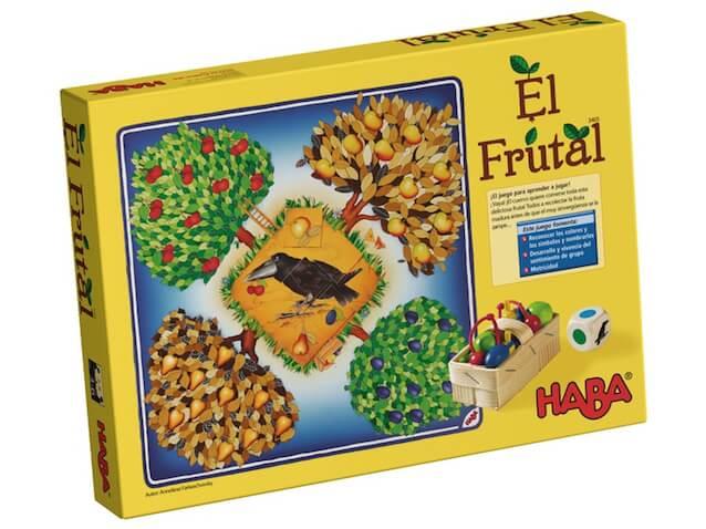 juego de mesa de HABA el frutal