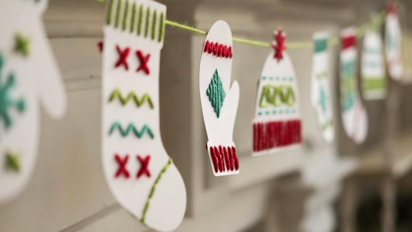 Manualidad de Navidad para niñ@s fácil de hacer