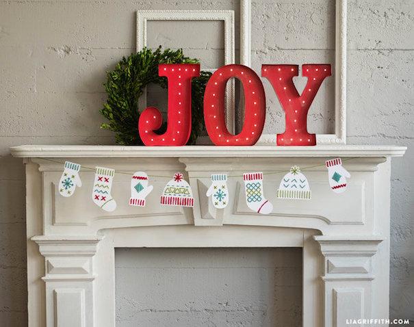 Manualidad de Navidad para niñ@s