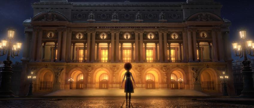 Escena de la película BALLERINA