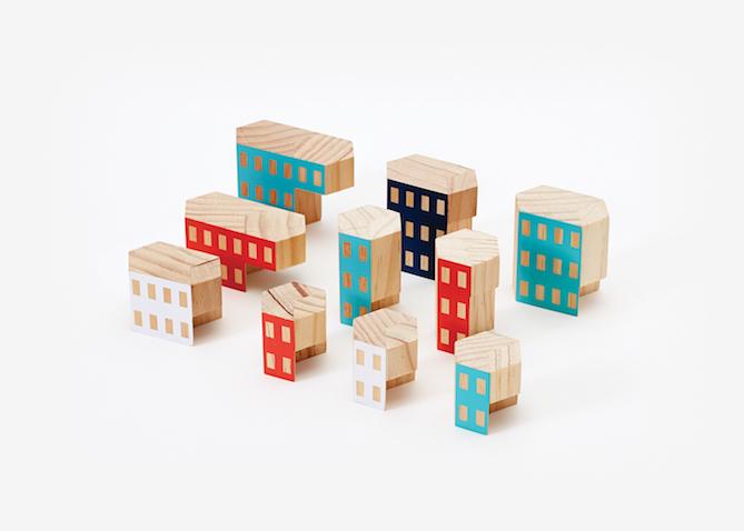 Blockitecture bloques de madera