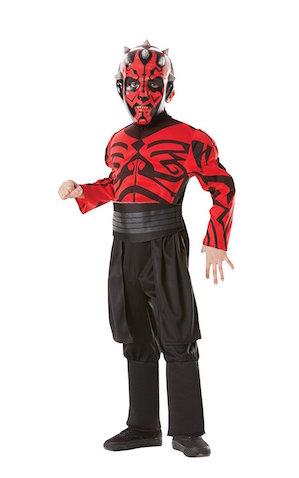 Disfraz de Darth Maul Musculoso para niñ@s