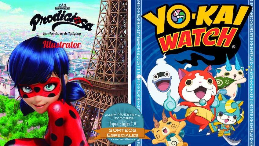 libros infantiles de Yo-kai y la Prodigiosa Ladybug