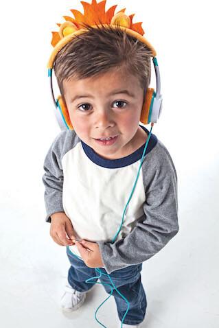 Auriculares para niñ@s IFROGZ de león