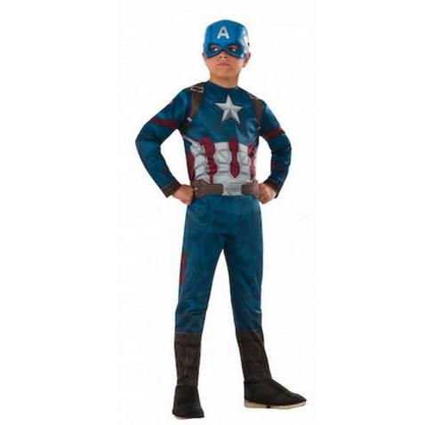 Disfraz infantil de Capitán América