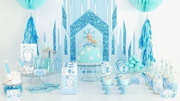 Tarta de Elsa de Frozen, tutorial DIY